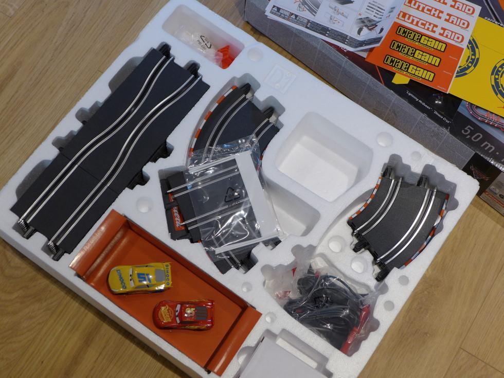 Inside the Carrera Go! box